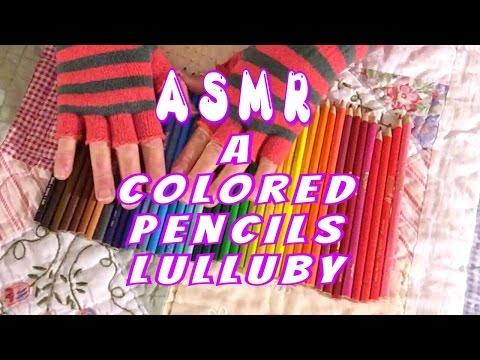 ASMR~ A Colored Pencils Lulluby 😴💕💁🏼