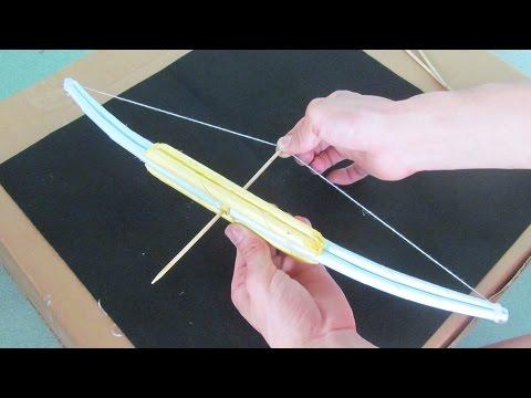 как сделать очень сильный лук с использованием бумаги