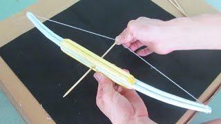 как сделать из бумаги лук и стрелы