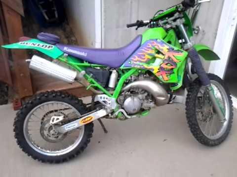 Kawasaki KDX 200 (1997) - YouTube