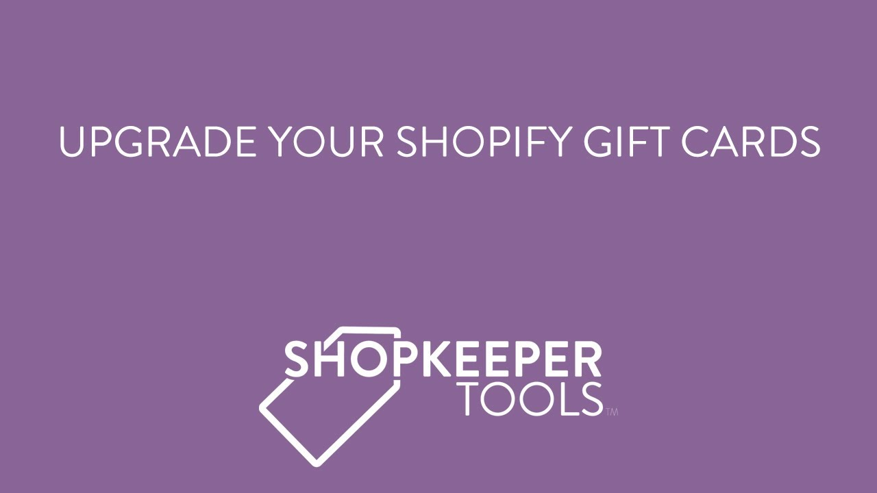Shopkeeper Gift Cards Ecommerce Plugins For Online Stores Shopify App Store