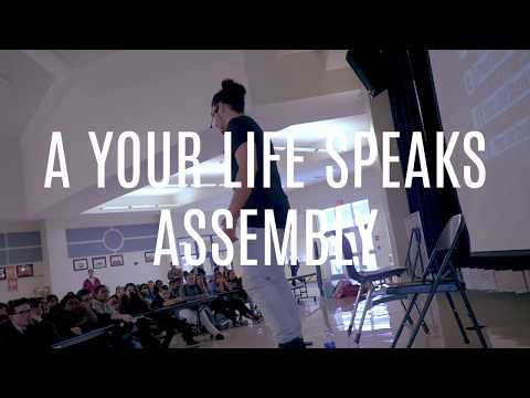 A Complete Your Life Speaks/Nathan Harmon School Assembly