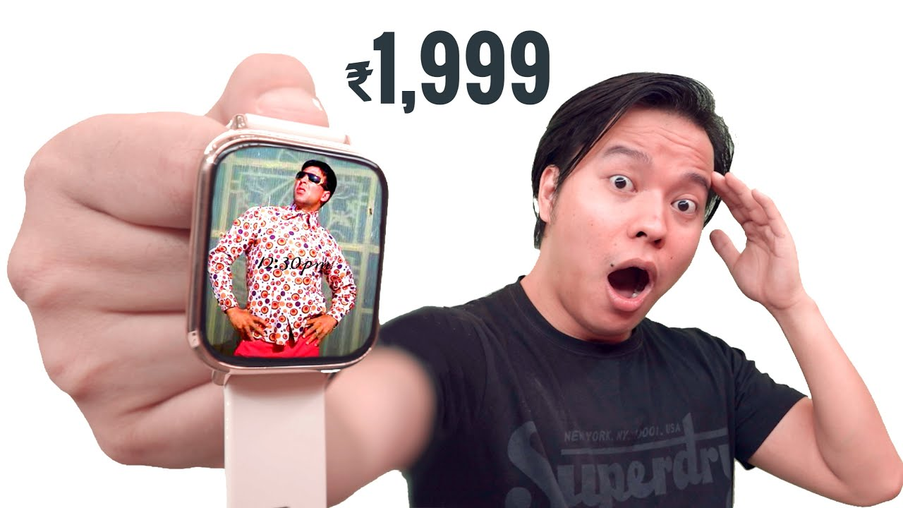 Download This ₹1,999 Smartwatch Will Surprise You * Premium* 😳😳