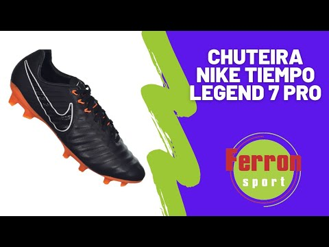 Ferron Sport - CHUTEIRA NIKE TIEMPO LEGEND 7 PRO - YouTube 277f418e7d587