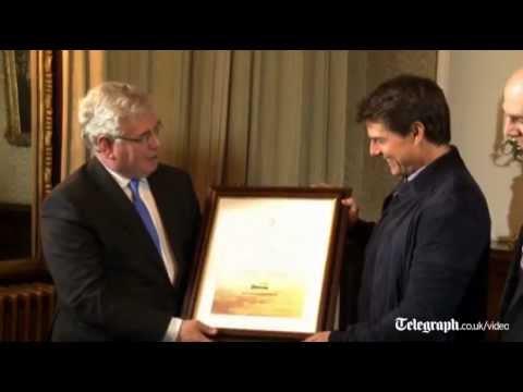 Tom Cruise 'very proud' to be Irish