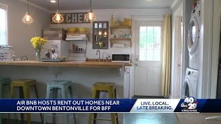 Air Bnb Hosts Rent Out Homes Near Downtown Bentonville For Bff