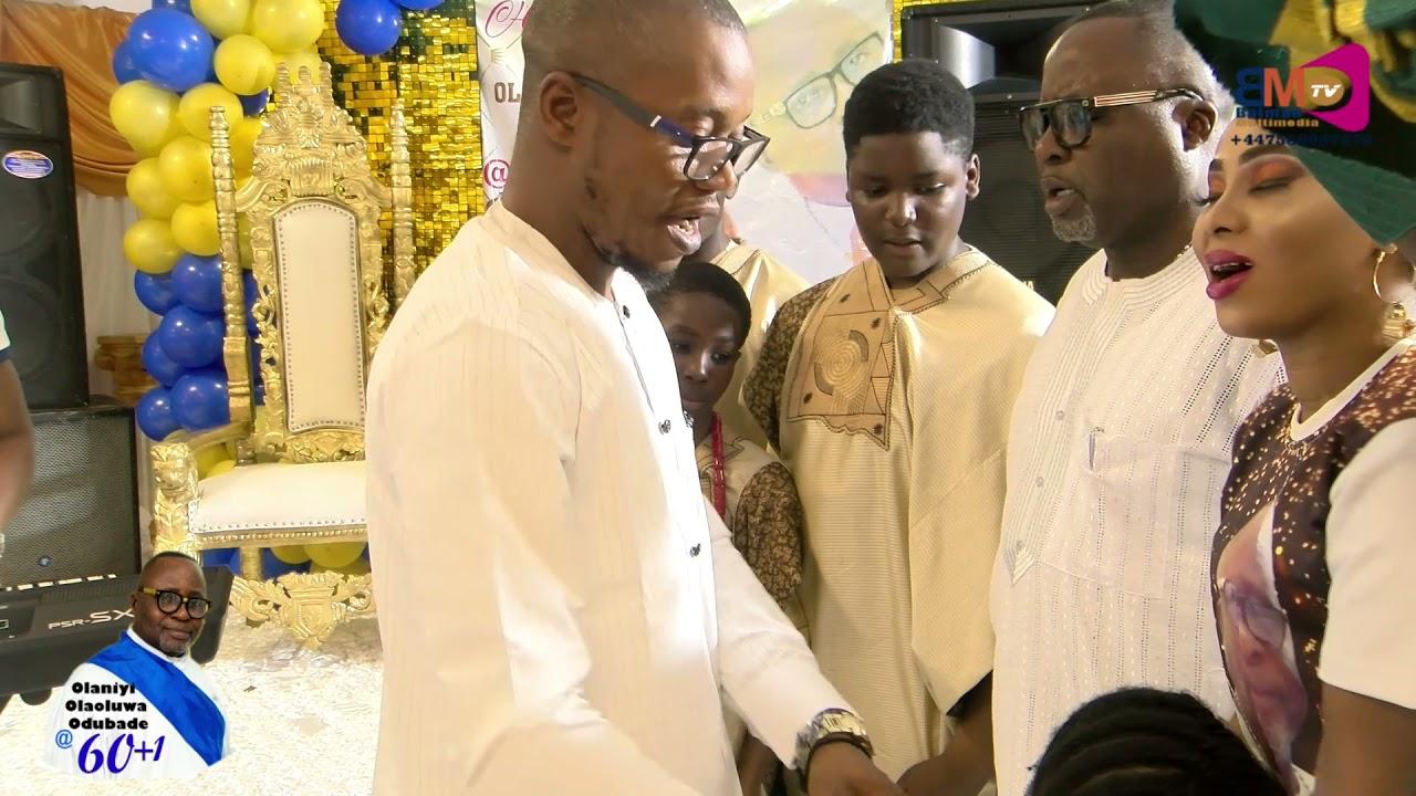 Download OLANIYI OLAOLUWA ODUBADE @ 61st SURPRISE BIRTHDAY