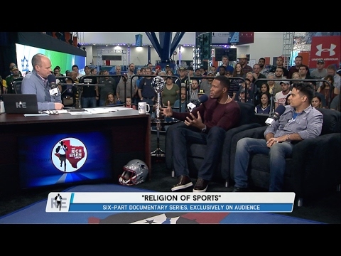 """HOFer Michael Strahan & Creator of """"Religion of Sports"""" Gotham Chopra Join The RE Show - 2/2/17"""