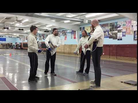 Fencing - Houston, Texas - Alliance Fencing Academy (Chilling)