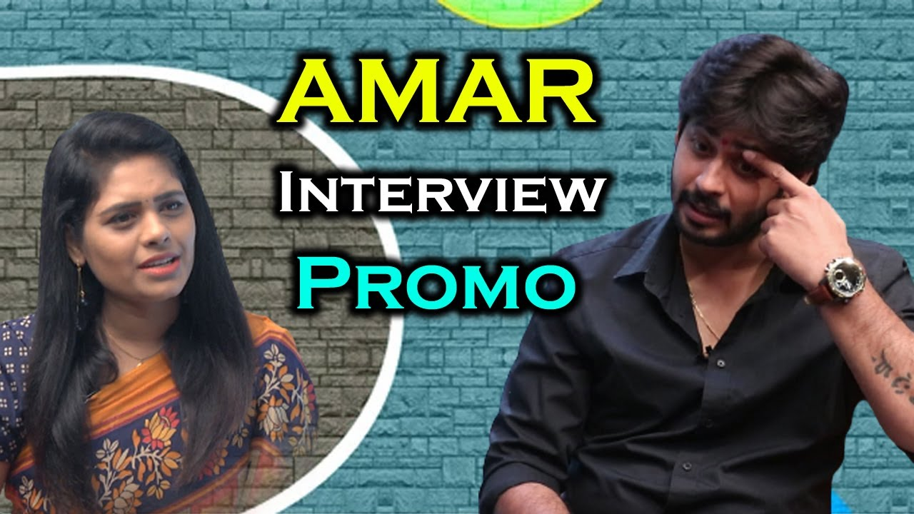 Janaki Kalaganaledu Serial Hero Amar Interview Promo | Friday Poster