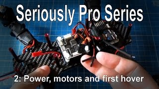 (2/9) Seriously Pro F3 (SP3) Series - Installation, power, motors and first hover