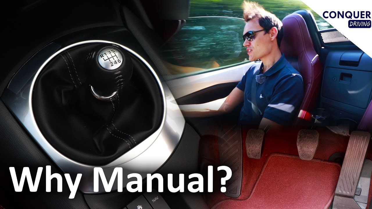 Why are manual cars popular in the UK and Europe