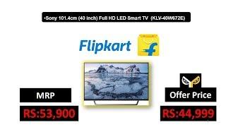 Sony 101.4cm (40 inch) Full HD LED Smart TV (KLV-40W672E)