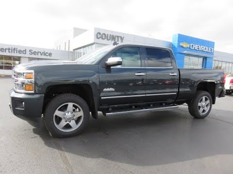 2018 Silverado 2500 High Country 4WD Graphite Metallic ...