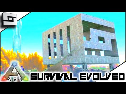 ARK: Survival Evolved - METAL BASE MONTAGE! S2E95 ( Gameplay )