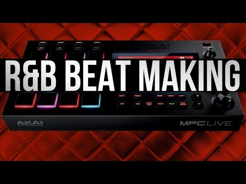 Making an R&B Trap Beat  | MPC Live | Studio One | FingerPrint Vst