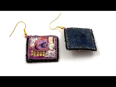 Beading4perfectionists : Embroidery with Shibory sil on Jeans tutorial
