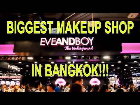 Biggest Makeup Shop in Bangkok