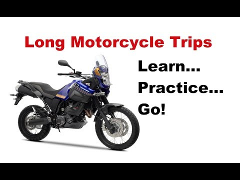 What is the right way to start with motorcycle touring?