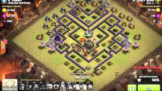 Clash of Clans #9 3 Sterne Angriff
