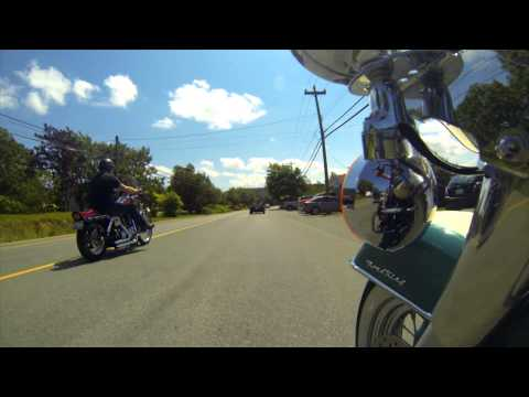 HIGH SPEED MOTORCYCLE RIDE - CONCEPTION BAY SOUTH, NEWFOUNDLAND - YOUTUBE - HD