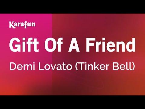 Karaoke Gift Of A Friend  Demi Lovato *