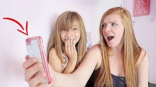 Reading my daughter'sTEXT messages on her iPhone