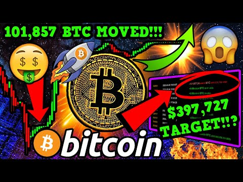 OMG!! BITCOIN $936 MILLION WHALE MOVE!! BTC HIDDEN BULLISH SETUP!! $397k PRICE TARGET!?