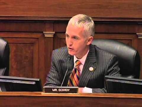 Gowdy Questions Tech Advisors On Healthcare Gov Rollout