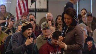 Tulsi Gabbard campaigns in Colorado