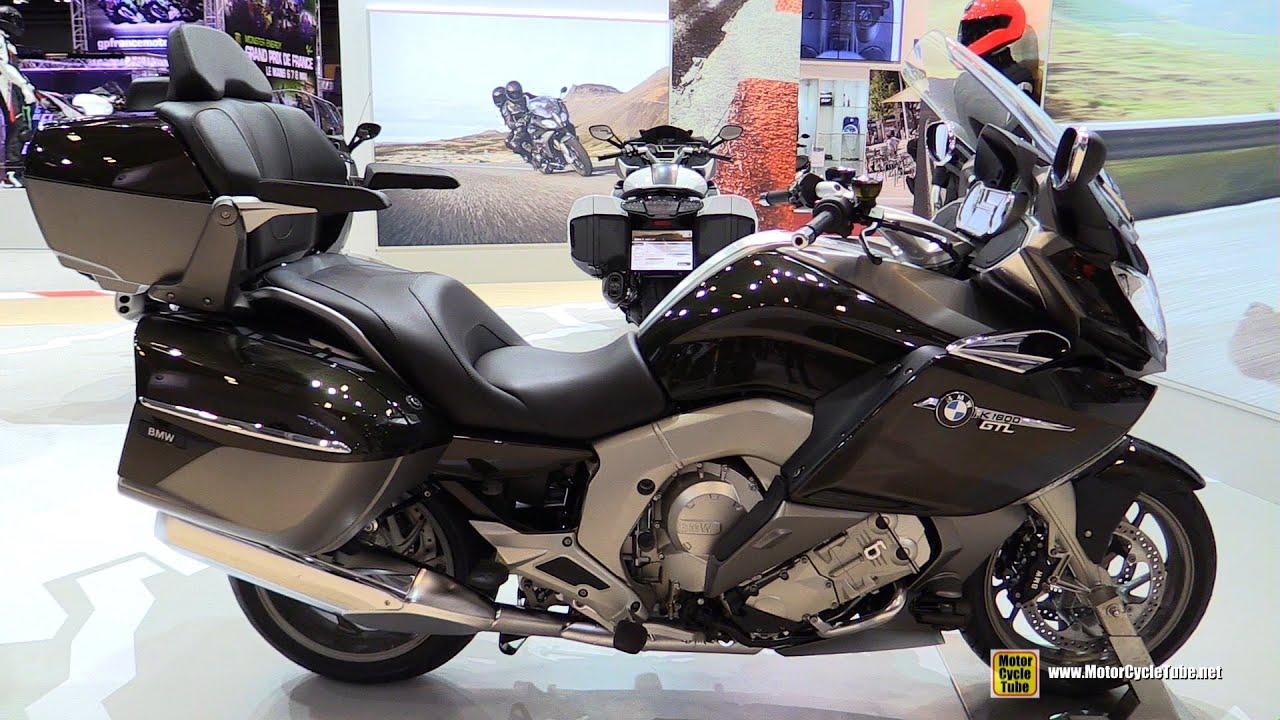 2016 bmw k1600gtl exclusive - walkaround - 2015 salon de la moto