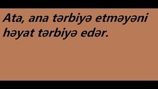 Скачать Atalar Sözləri 1