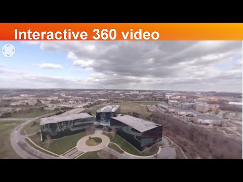 Interactive 360⁰ video of GSK Global Vaccines R&D Center in Rockville, MD