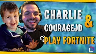Download Fortnite - Charlie & CouRageJD Play Fortnite! - October 2018 | DrLupo Mp3 and Videos