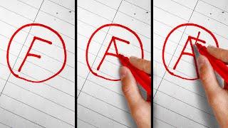 школа трюков Rasns: Как сделать циркуль из трех карандашей?