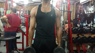My Friend in Gym - Shoulder Exercise