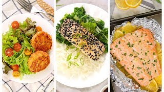 20 Minute Salmon Recipes | Healthy + Simple Dinner Ideas