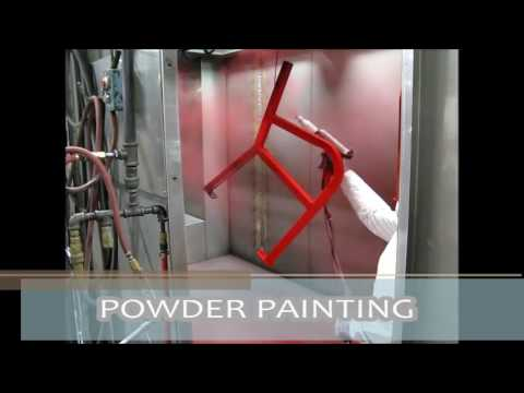 Powder Coat Painting
