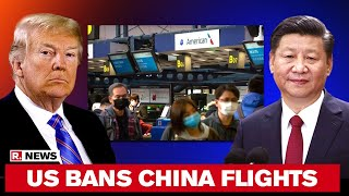 US Suspends All Flights By Chinese Airlines From June 16