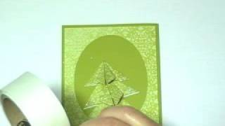 Origami Wow Christmas Tree Cards