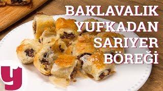 Baklavalık Yufkadan Sarıyer Böreği Tarifi (Evdeki Bir Başka!)   Yemek.com
