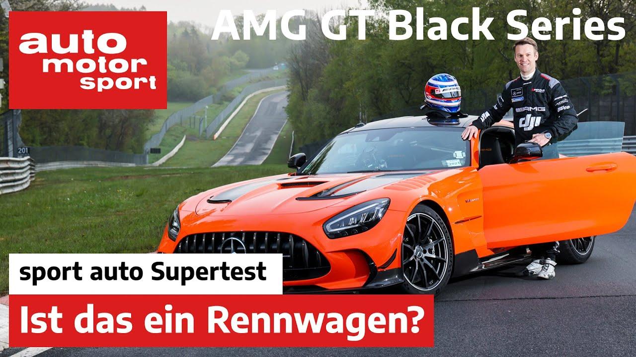 Mercedes-AMG GT Black Series: Mit 730 PS zur Nordschleifen-Rekordrunde? | sport auto Supertest