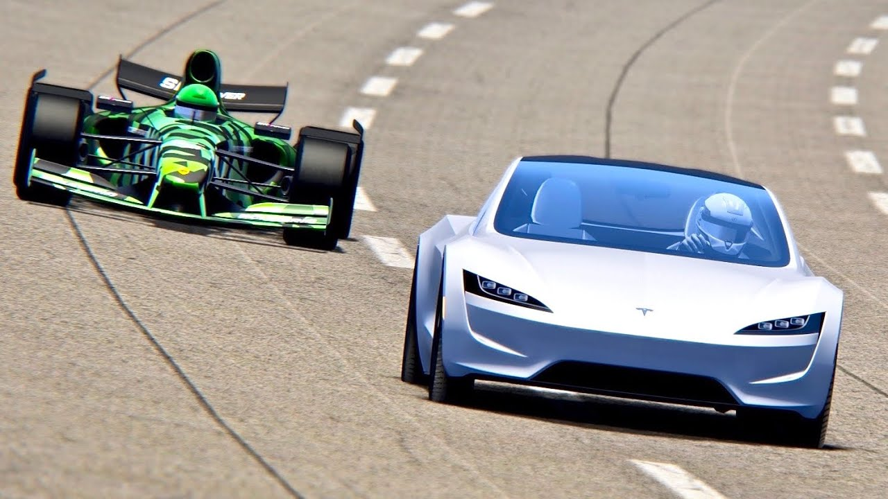 2021 Formula Rapide vs Tesla Roadster - Nardo Speed Ring ...