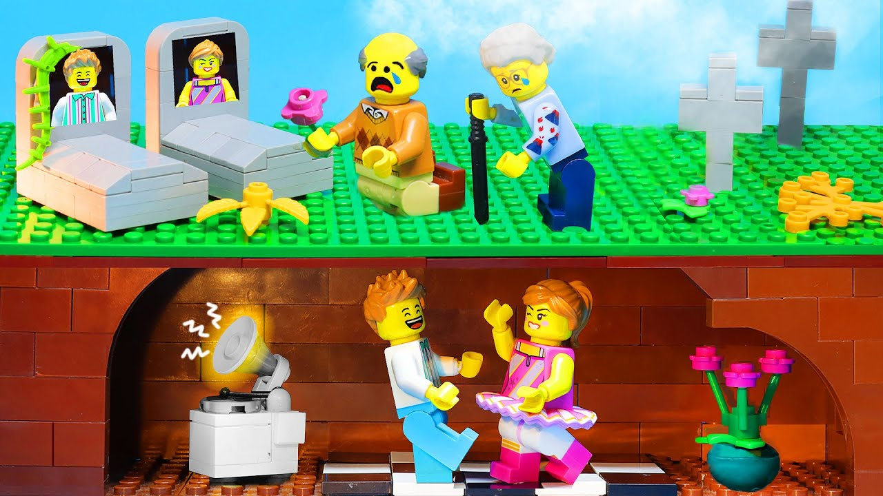 RICH VS BROKE | Escape From Bank Vault Robbery by LEGO Land