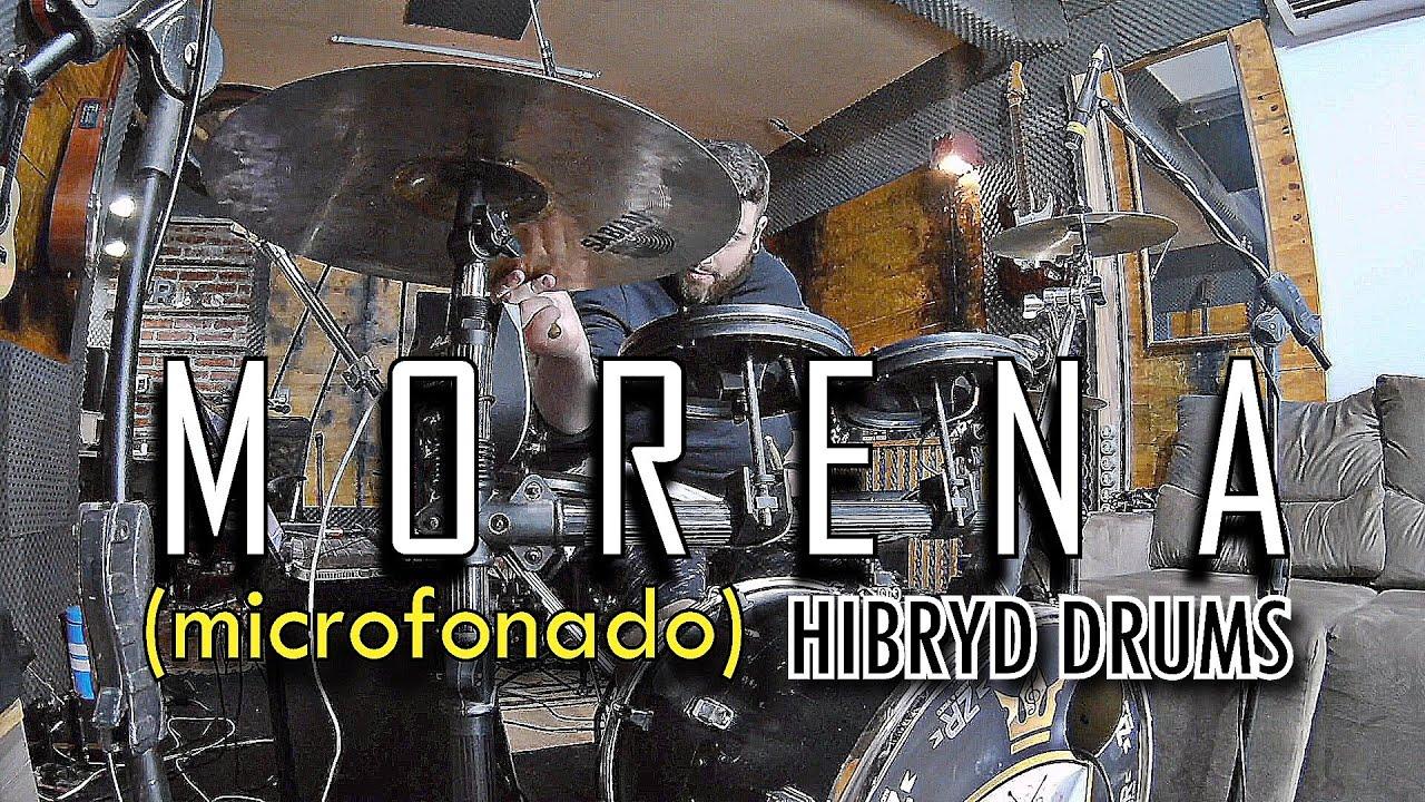Vitor Kley - Morena (Microfonado) | Drum Cover - Batera Híbrida
