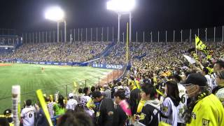 2014-05-04  Yakult Swallows VS Hanshin Tigers (Winning Rokko Oroshi)