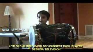 Baixar 4 YR OLD WORLDS YOUNGEST DHOL PLAYER ALOKIK DUTT