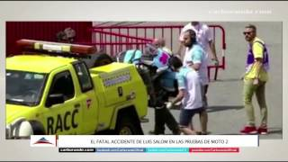 #Moto2 - Fatal accidente de Luis Salom (03-06-2016) - Carburando.com