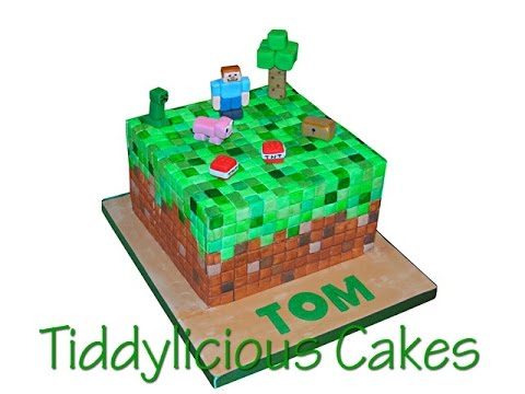 Minecraft Cake Toppers Part One Youtube