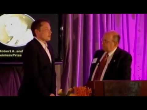 Elon Musk receives the Heinlein Prize Award 2011.mp4